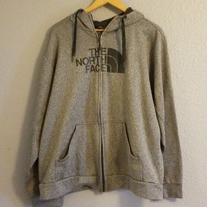 Authentic North Face Zip Up Hoodie